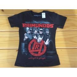 Camiseta Babylook Raimundos Cantigas de Garagem